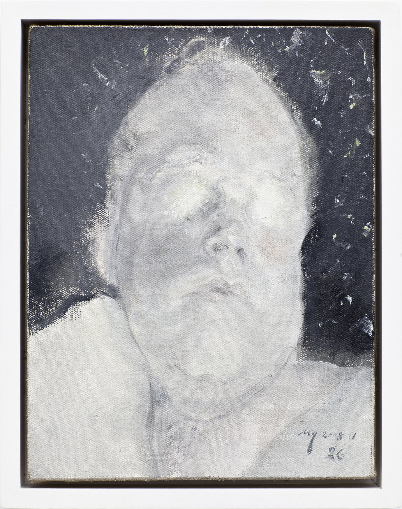 , 2008. oil on canvas, 36×27.8cm.