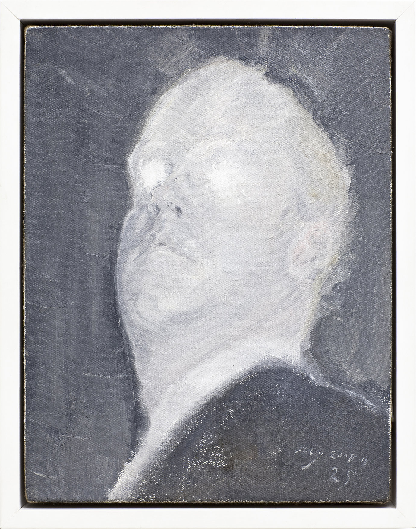 , 2008. oil on canvas, 36×27.5cm.