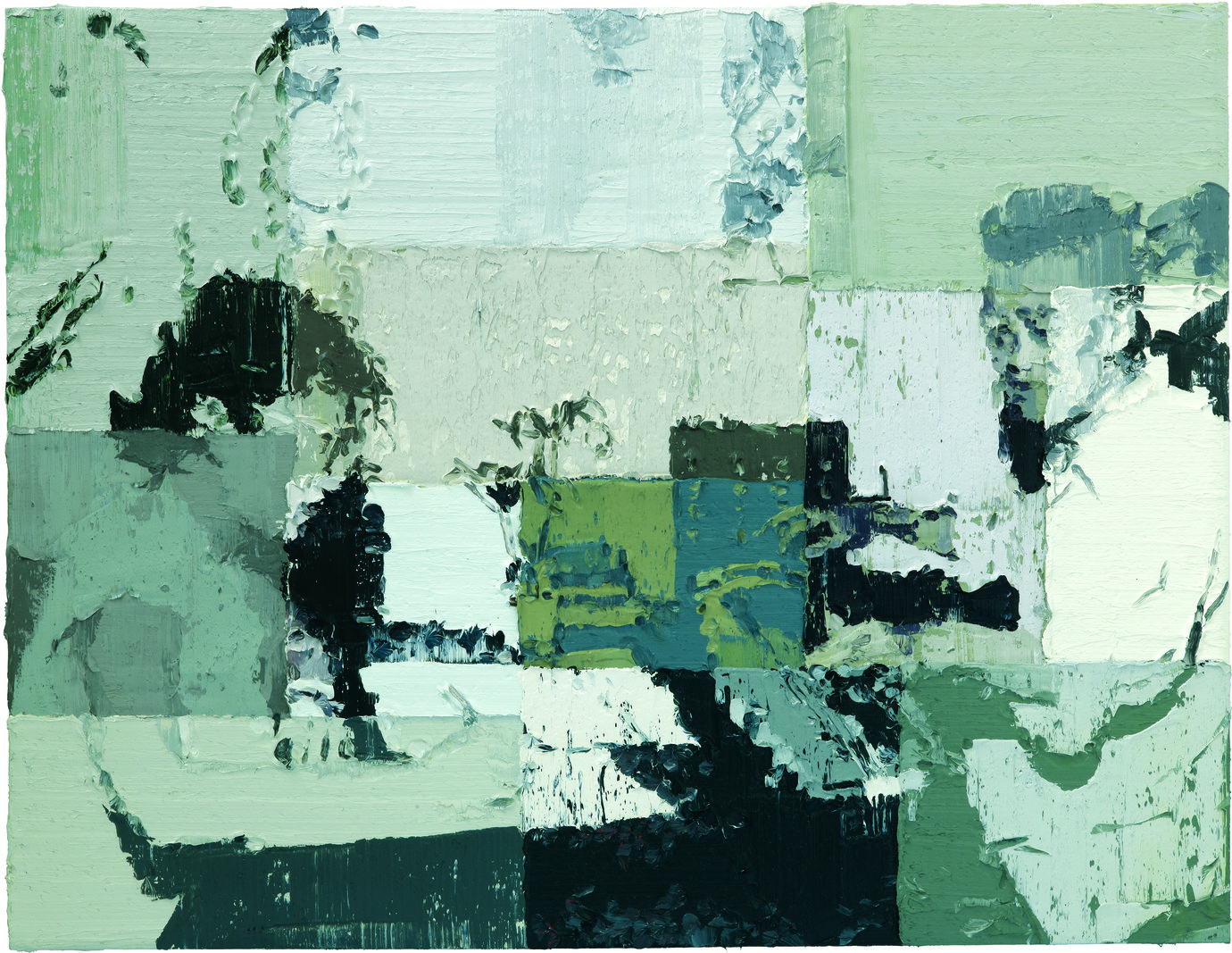 ", 2011. oil on canvas, 6' 6-3/4"" x 8' 6-3/8"" (200 cm x 260 cm)."