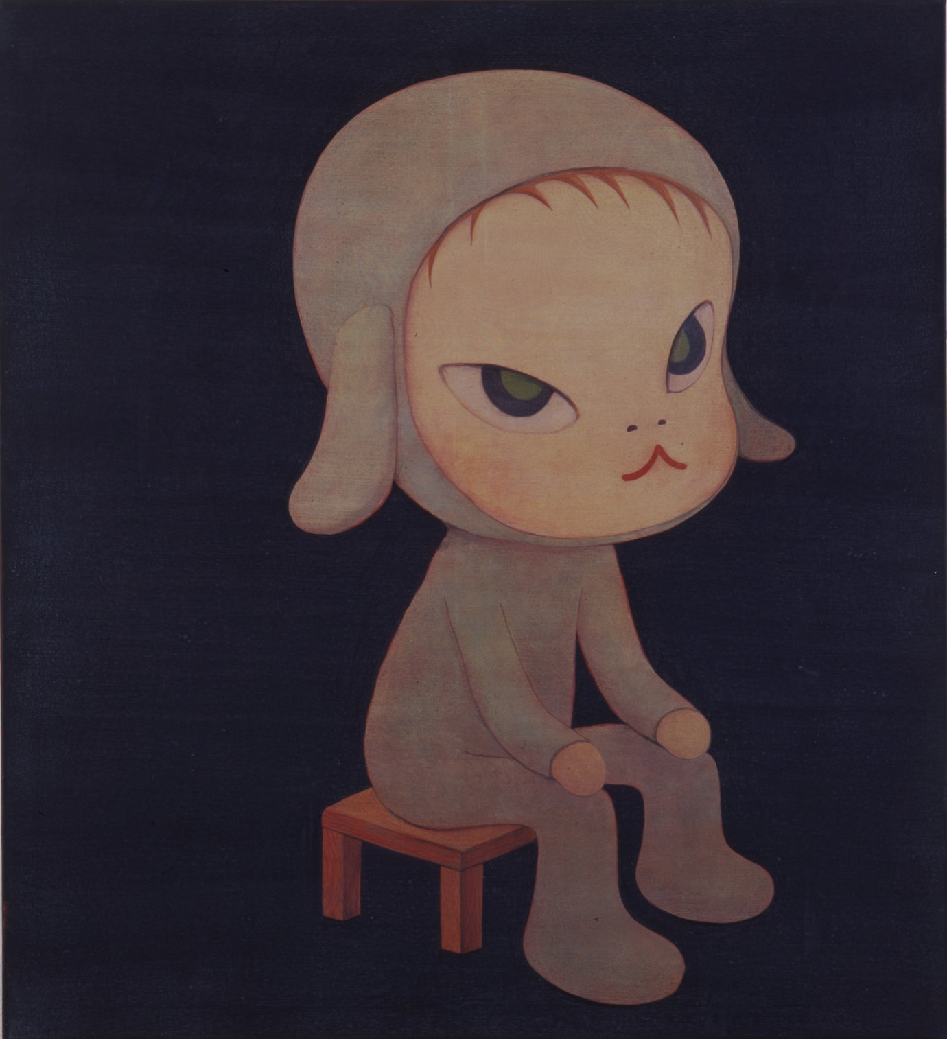 , 1997. Acrylic on canvas, 47 1/8 x 43 1/8 in. (119.7 x 109.5 cm).