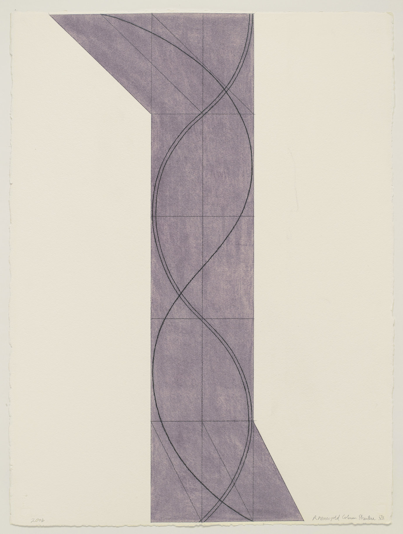", 2006. Pastel and black pencil on paper, 30-1/4"" x 22-1/2"" (76.8 cm x 57.2 cm)."