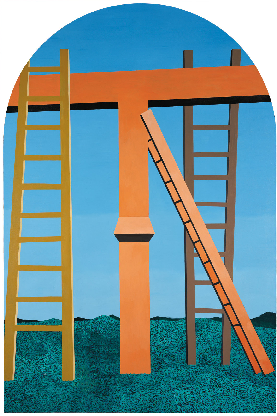 , 2009. Oil on canvas, 450cm × 300 cm.