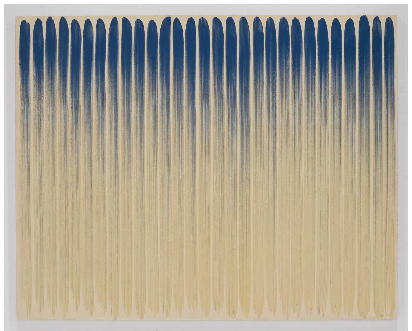 ", 1974. Oil on canvas, 71-1/2"" x 89-3/8"" (181.6 cm x 227 cm)."