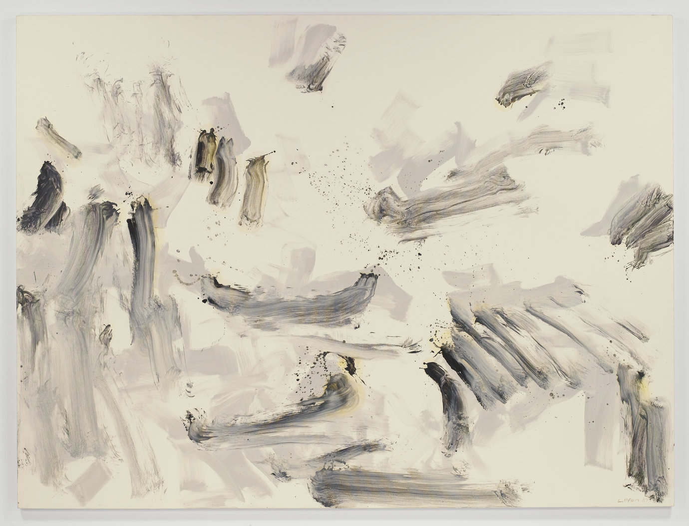 ", 1989. Oil on canvas, 7&apos; 1-7/8"" x 9&apos; 6-1/2"" (218.2 cm x 290.9 cm)."