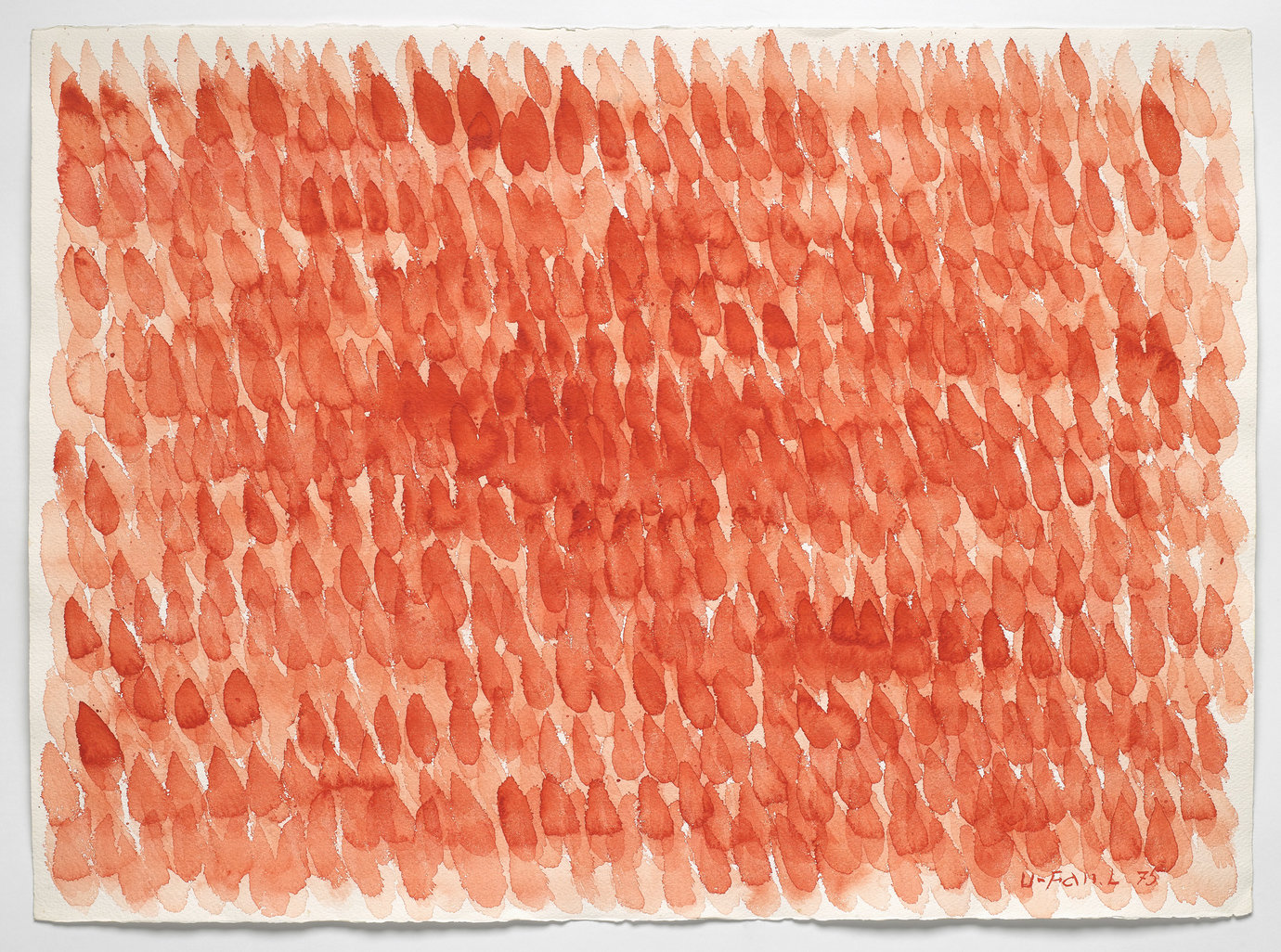 ", 1975. Watercolor on paper, 22-5/8"" x 30-1/8"" (57.5 cm x 76.5 cm)."