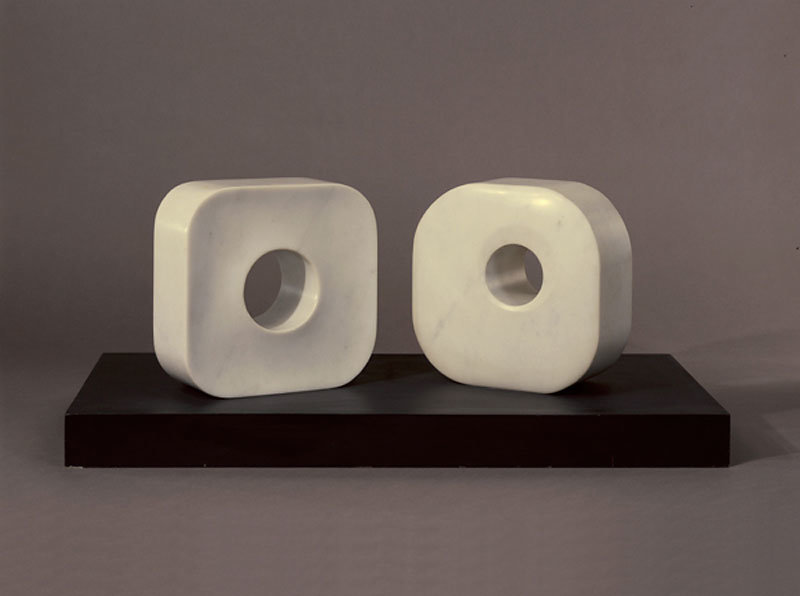 ", 1974. Marble, 12 x 27-1/2 x 12-1/2"" (30.5 x 26.7 x 31.8 cm)."
