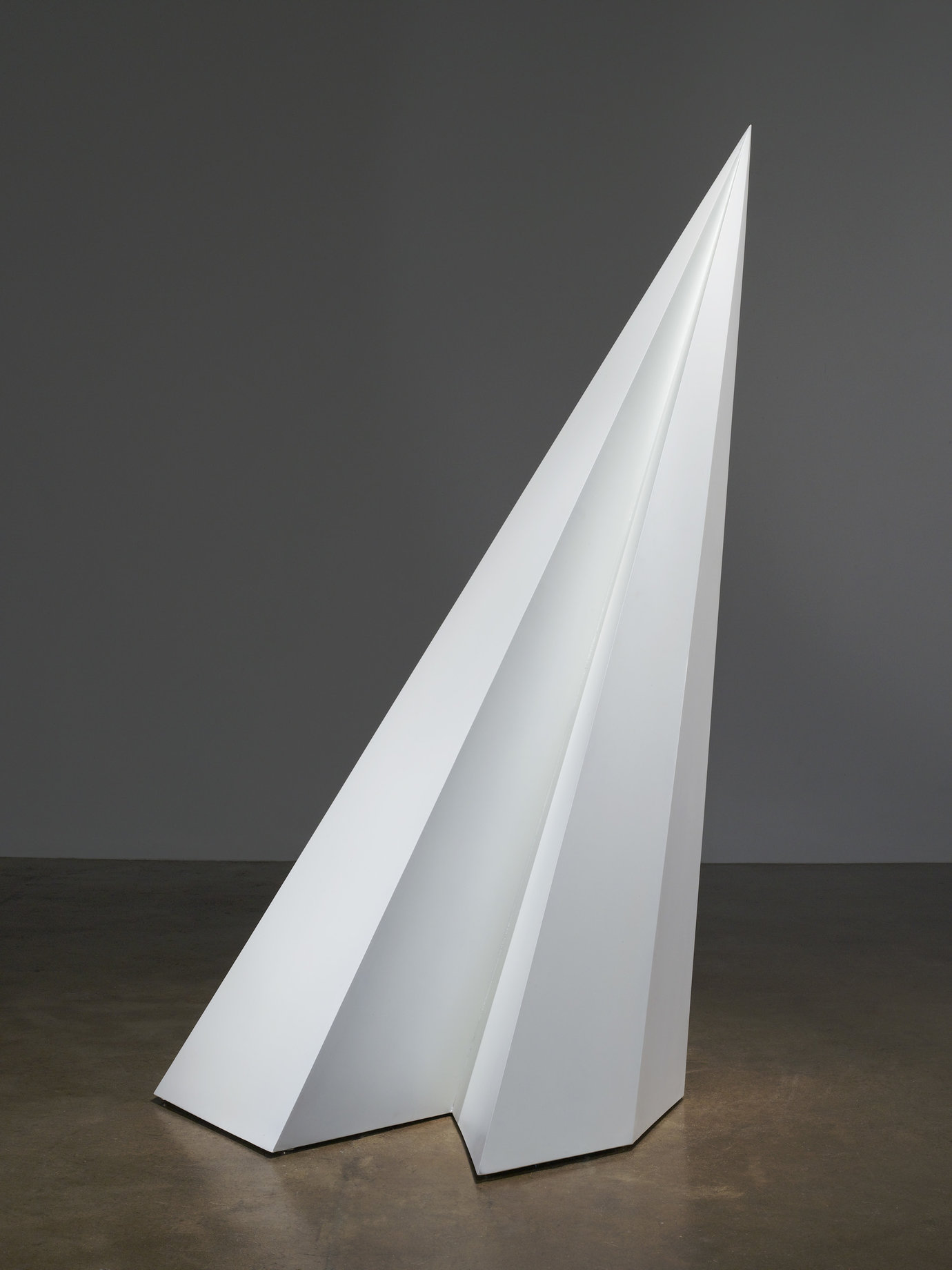 ", 1985. painted wood, 79-7/8"" x 47"" x 37-1/2"" (202.9 cm x 119.4 cm x 95.3 cm)."