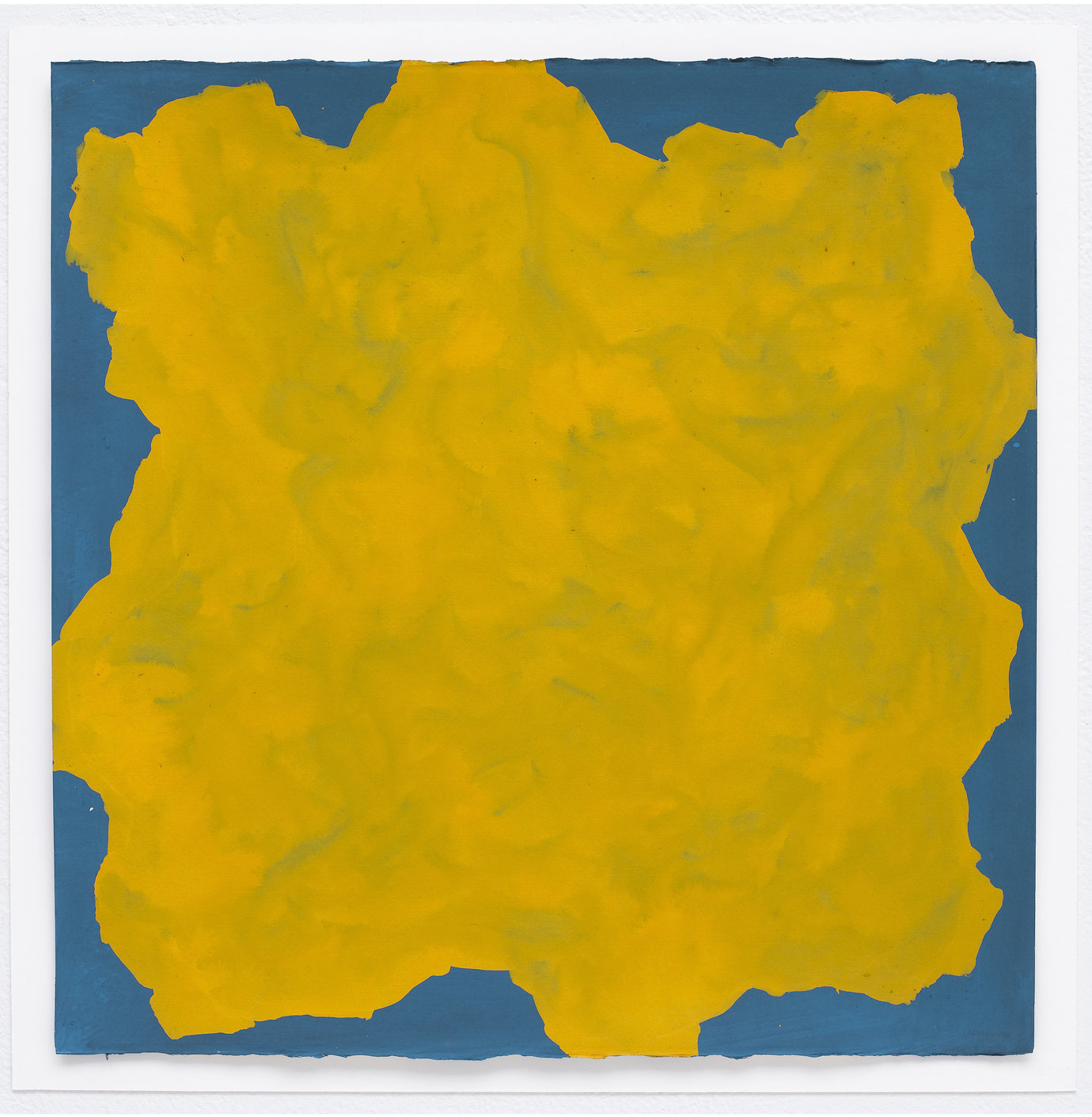 ", 1998. Gouache on paper, 25-1/4"" x 25-1/4"" (64.1 cm x 64.1 cm)."