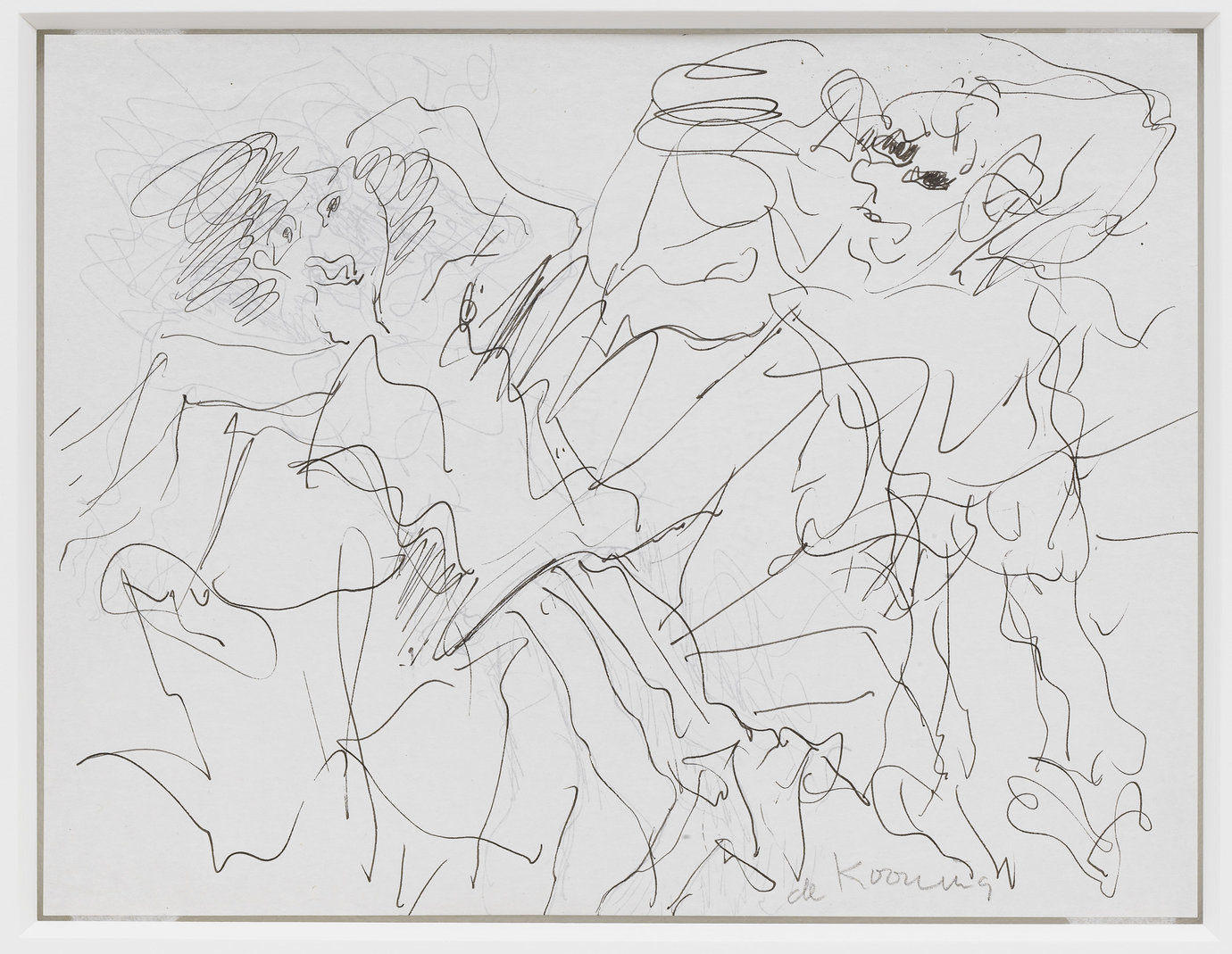", c. 1980. Ink on paper, double-sided, 8-1/2"" x 11-1/16"" (21.6 cm x 28.1 cm)."