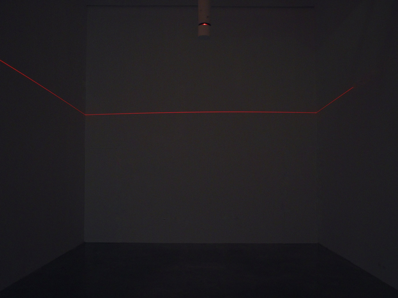 , 1967. laser projection, installation dimensions variable.