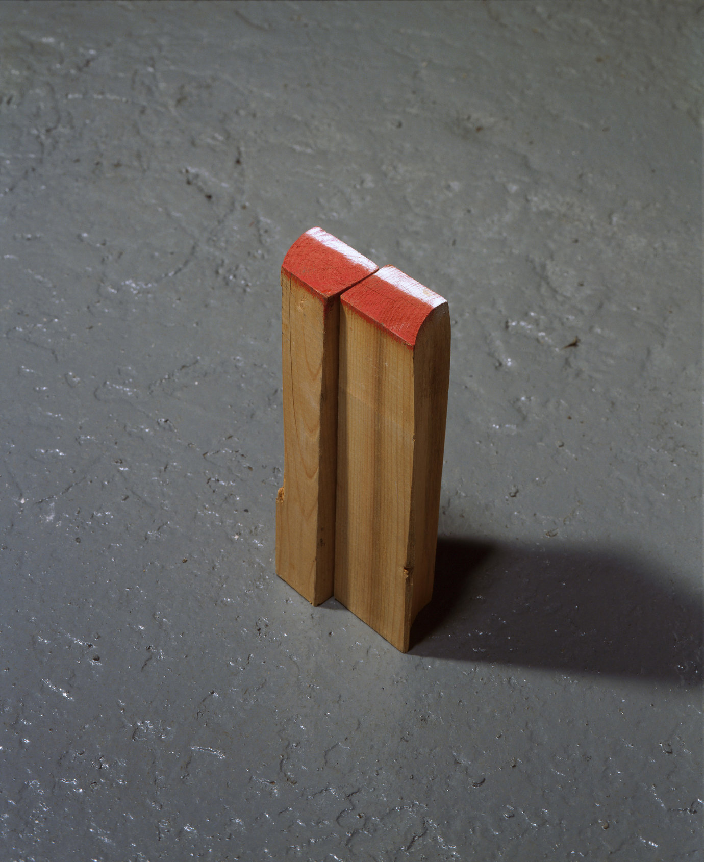 ", 2007. Wood, paint, 8-3/4"" x 4"" x 1-3/4"" (22.2 cm x 10.2 cm x 4.4 cm)."