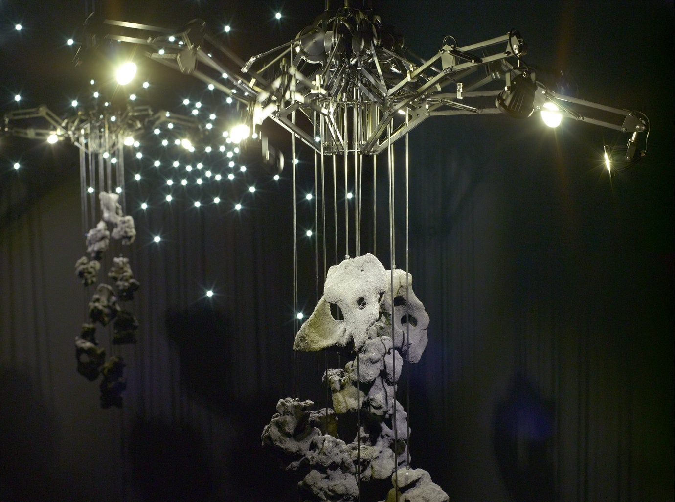 , 2012. mechanical and electrical components, LED lights, cast resin, overall installation dimensions variable .