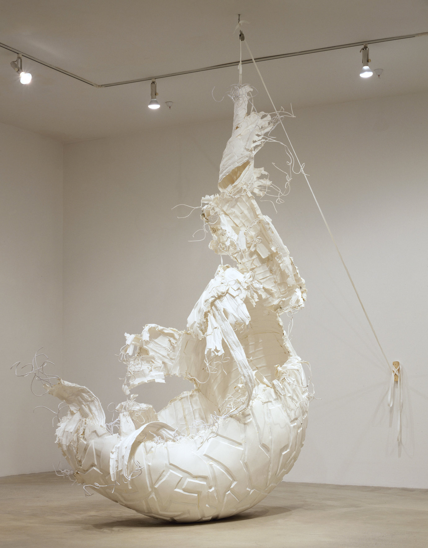 , 2004. Paper, wire, string, foam and rubber, 13' x 9' x 5' (396.2 cm x 274.3 cm x 152.4 cm).