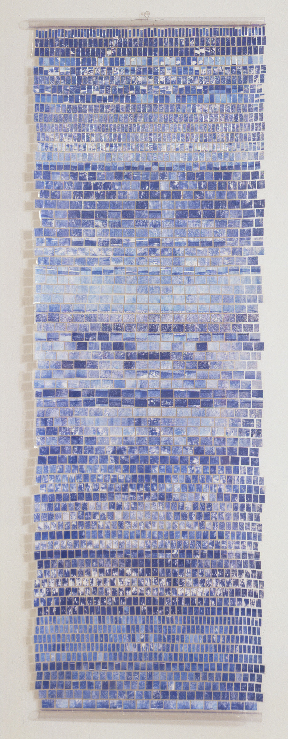 ", 2000. Ink on paper laminated on polyester, 73"" x 25"" (185.4 cm x 63.5 cm)."