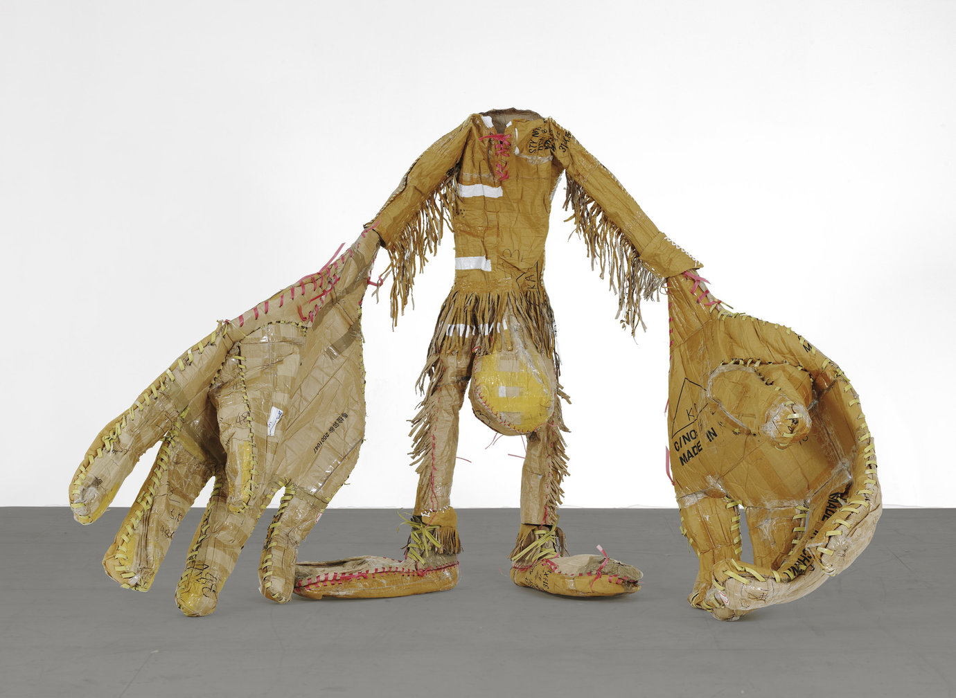 ", 2006-2007. Cardboard, box strapping and urethane foam, 5' 9-1/2"" x 8' 7"" x 5' 8"" (176.5 cm x 261.6 cm x 172.7 cm)."