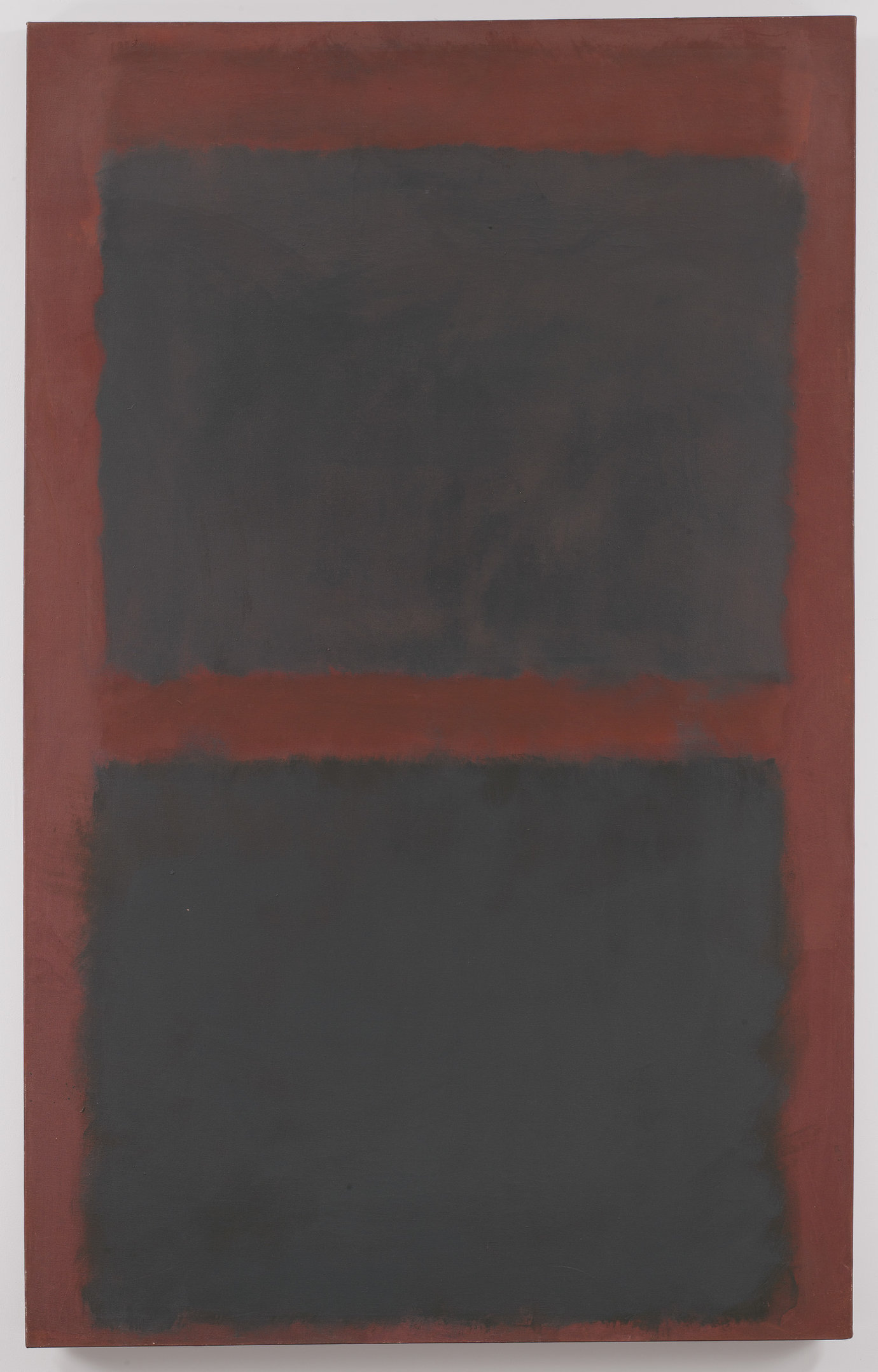 ", 1958. Oil on canvas, 72"" x 45"" (182.9 cm x 114.3 cm)."