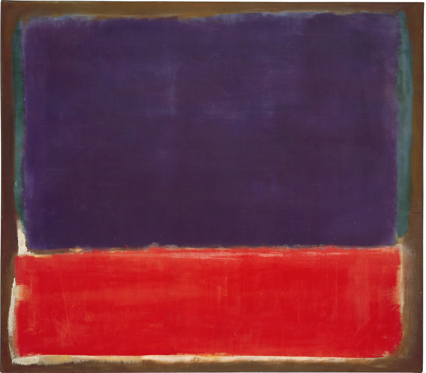 ", 1951 (c. 1949-1951). Oil on canvas, 56-1/2 x 65"" (143.5 x 165.1 cm)."