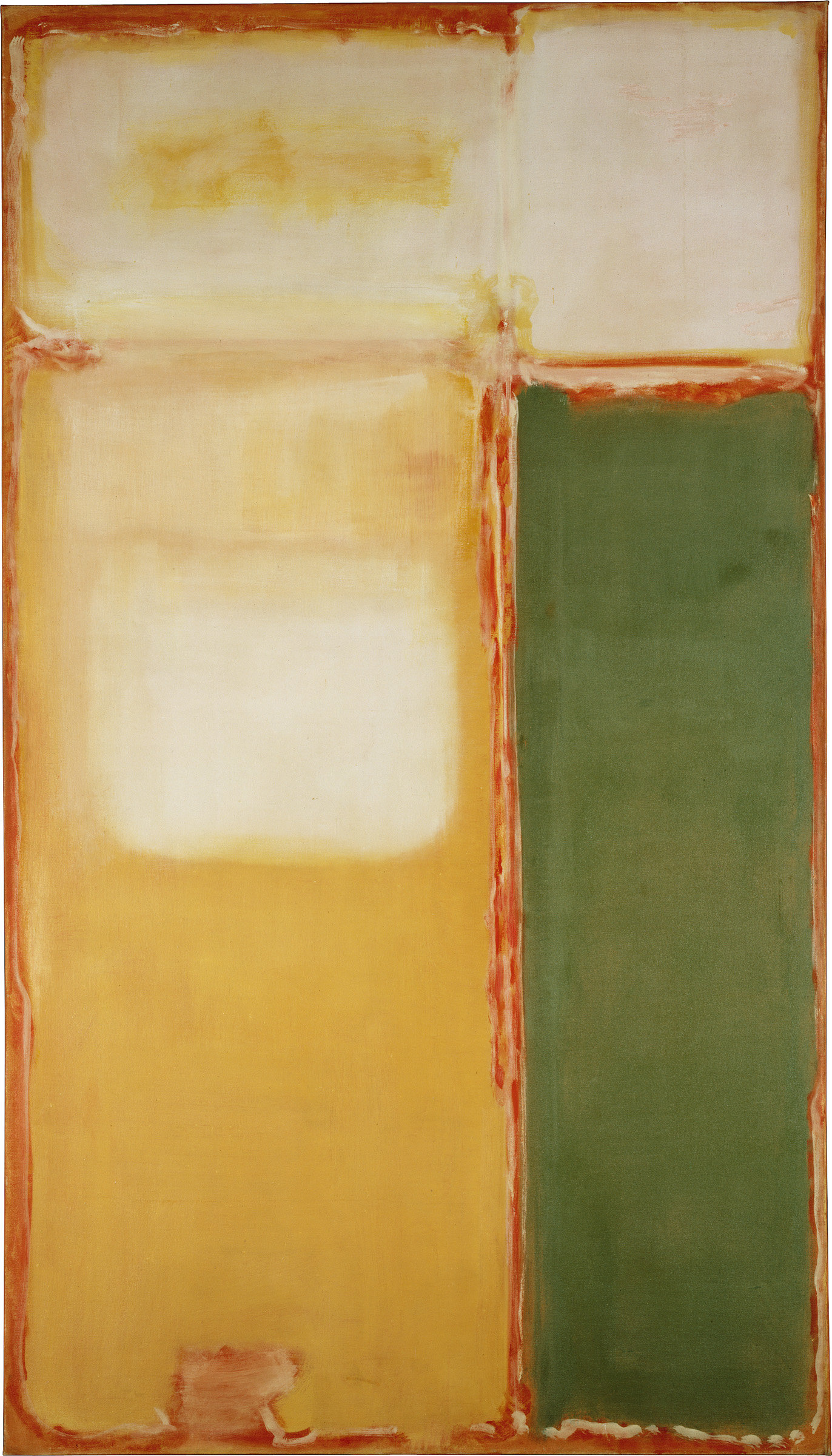 ", 1949. Oil on canvas, 93-3/4"" x 53-1/8"" (238.1 cm x 134.9 cm)."