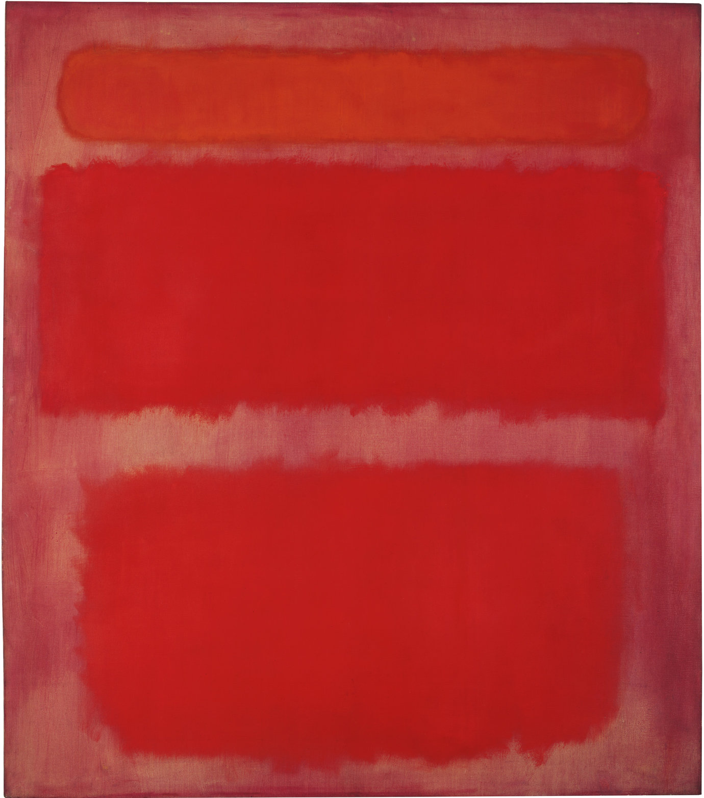 ", 1961. Oil on canvas, 93 x 81""."