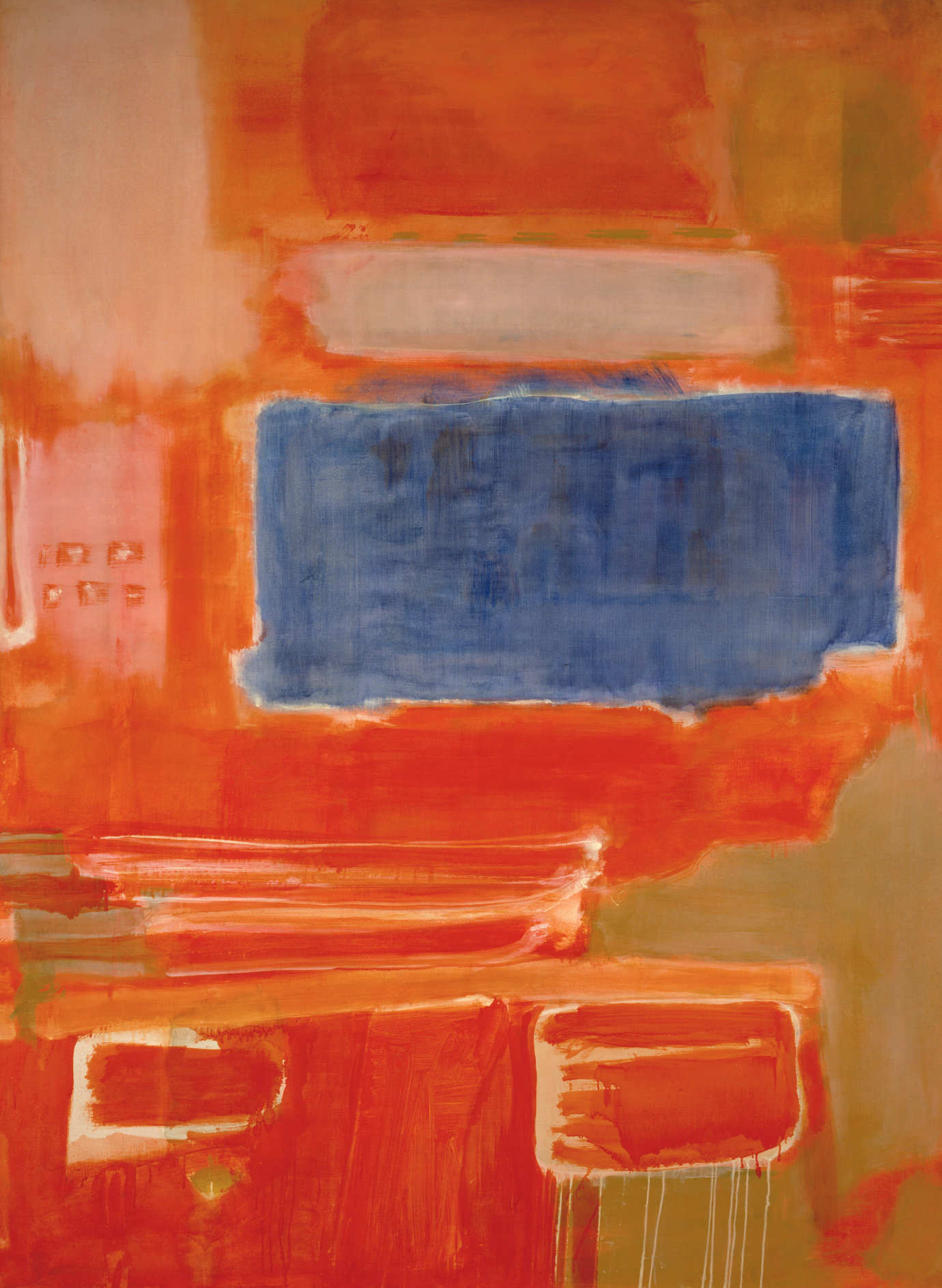 ", 1948. Oil on canvas, 88-7/8 x 65"" (225.7 x 165.1 cm)."