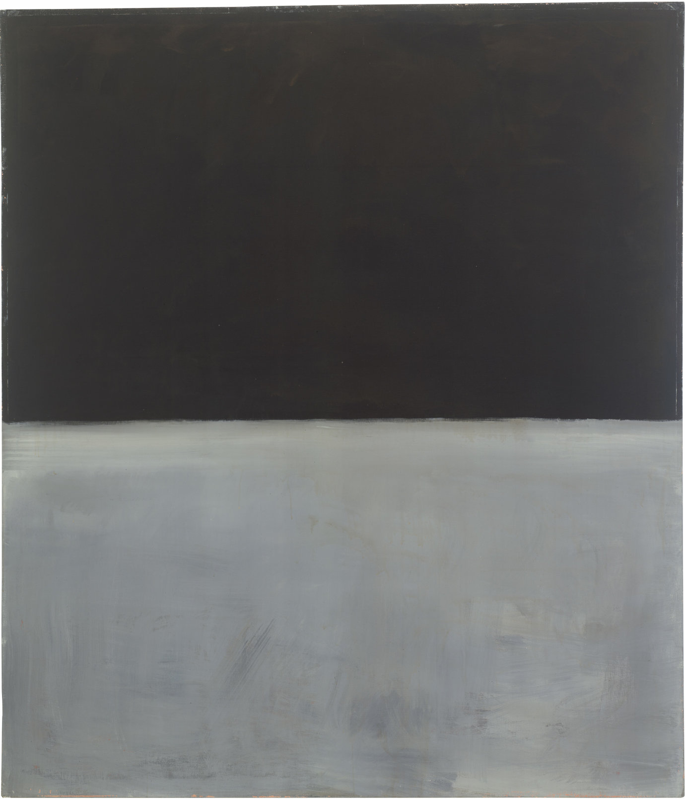 ", 1969. acrylic on canvas, 92"" x 79"" (233.7 cm x 200.7 cm)."