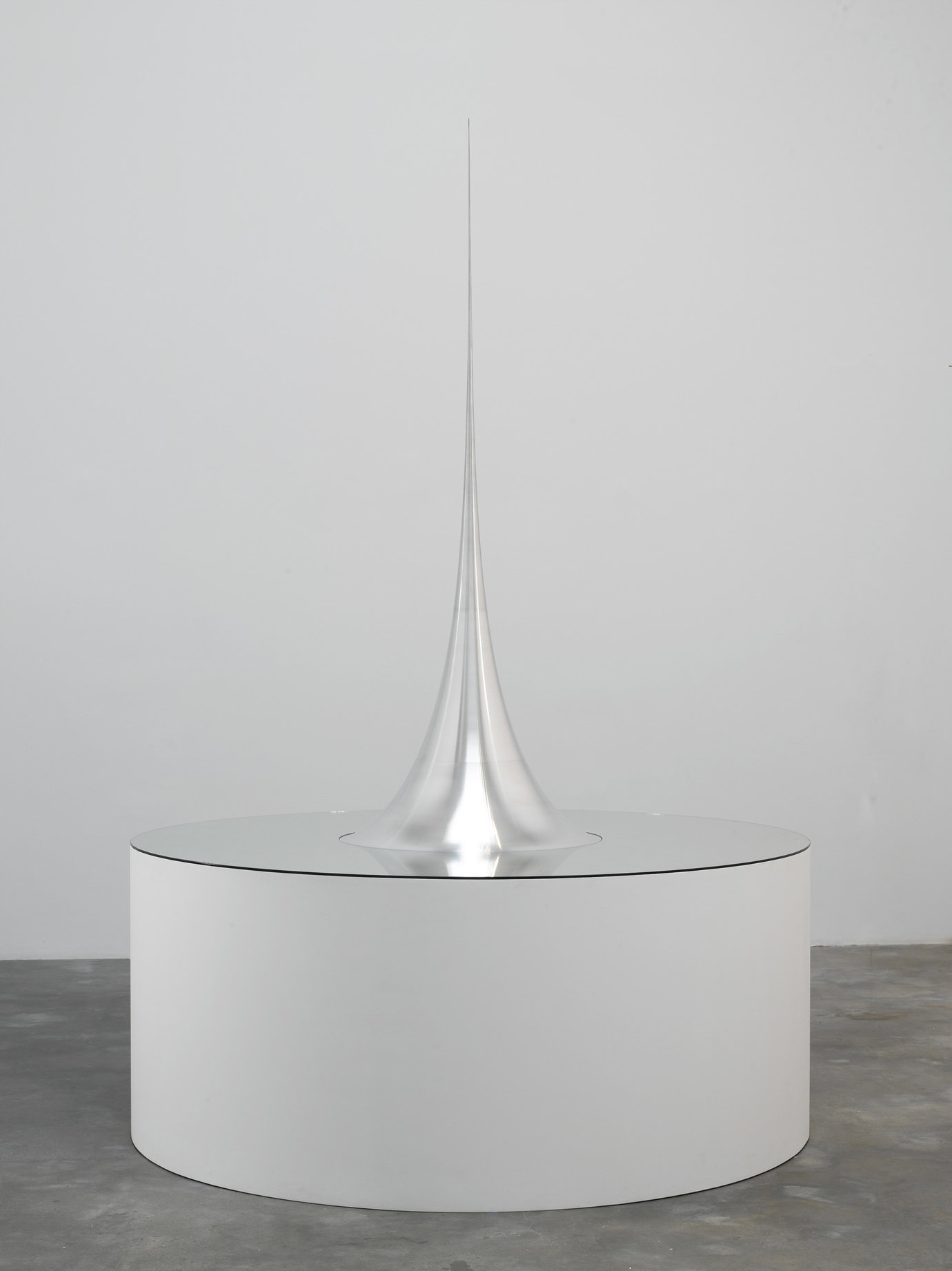 ", 2006. Aluminum and glass, 63"" high x 27-9/16"" diameter (160 cm x 70 cm), model