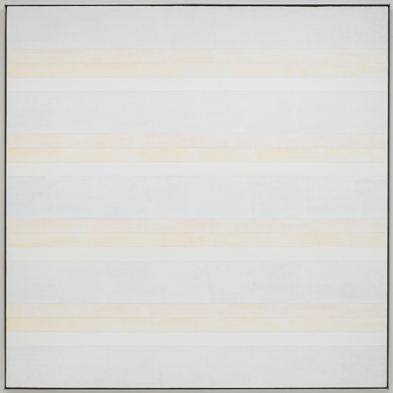 ", 1992. acrylic and graphite on linen, 72 x 72"" (182.9 x 182.9 cm)."