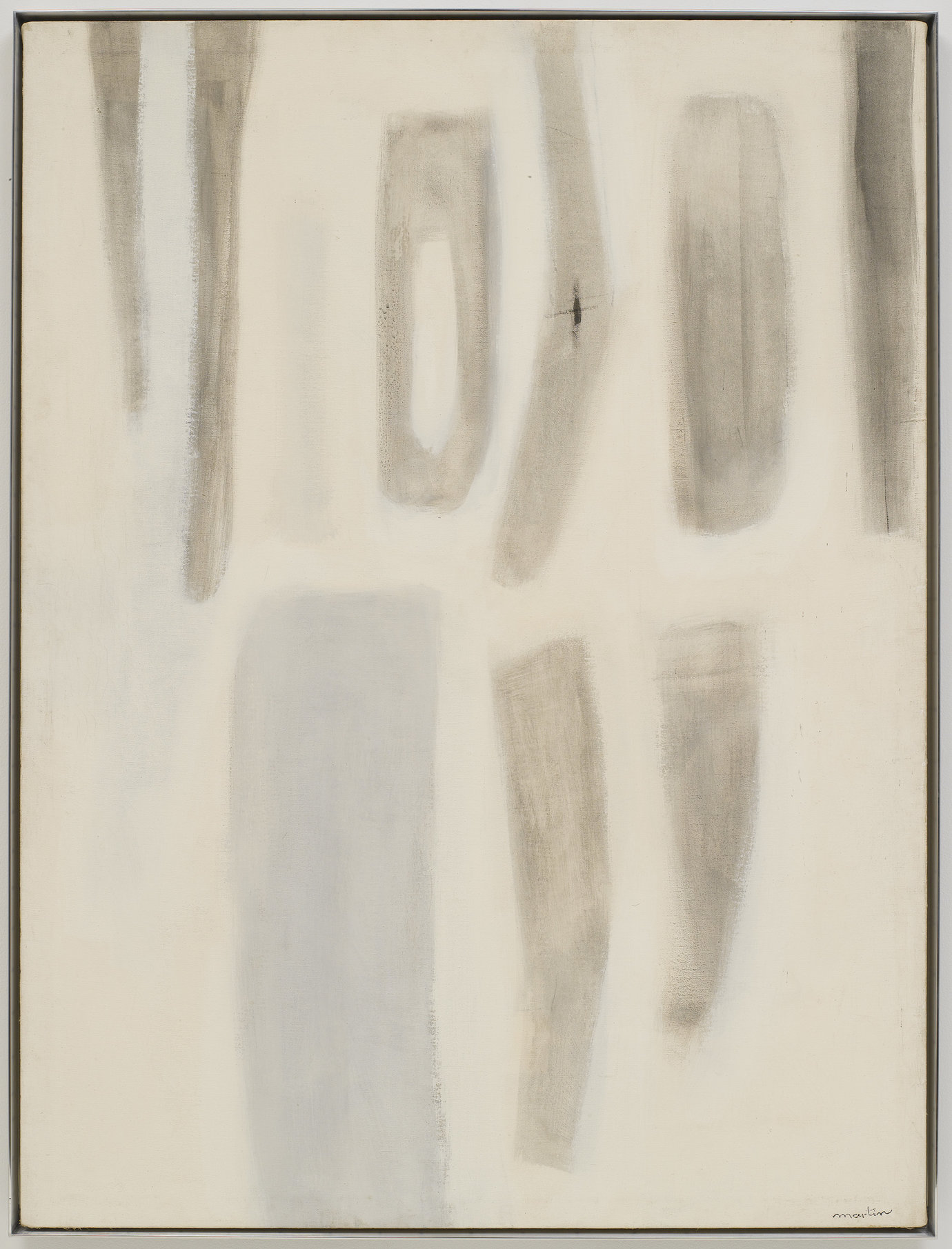 ", 1955-1956. Oil on canvas, 48"" x 36"" (121.9 cm x 91.4 cm)."