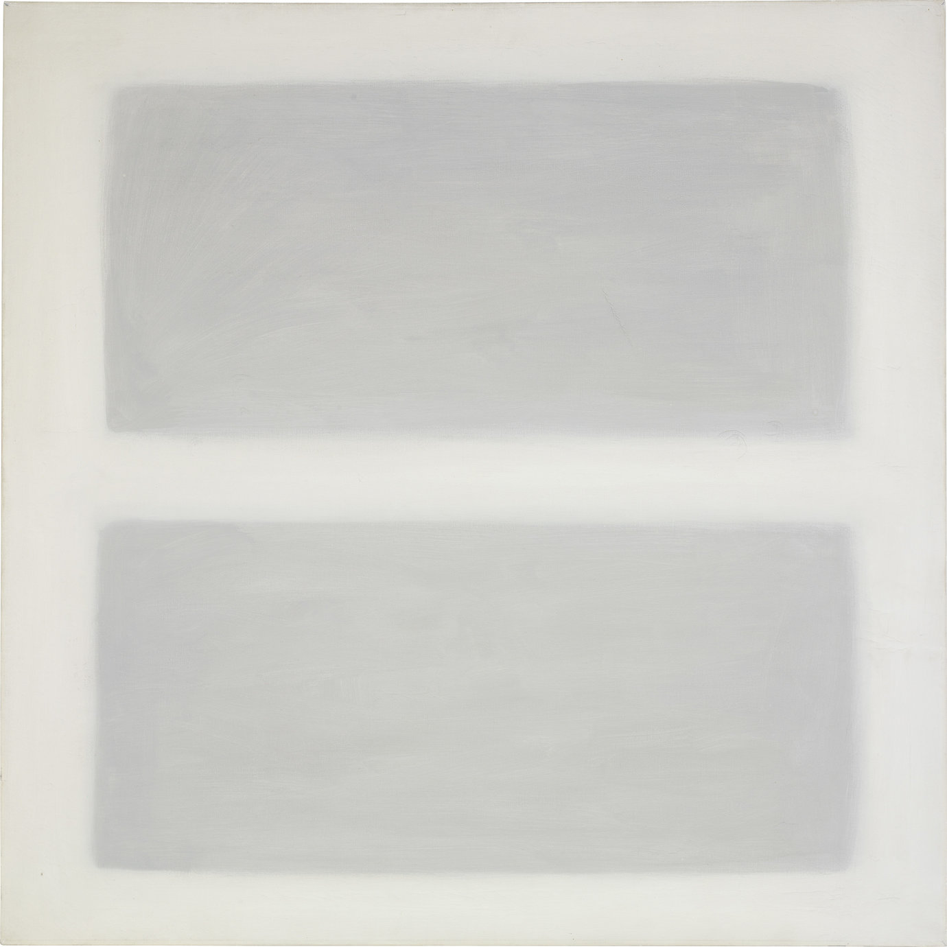 ", 1958. Oil on canvas, 40"" x 40"" (101.6 cm x 101.6 cm)."