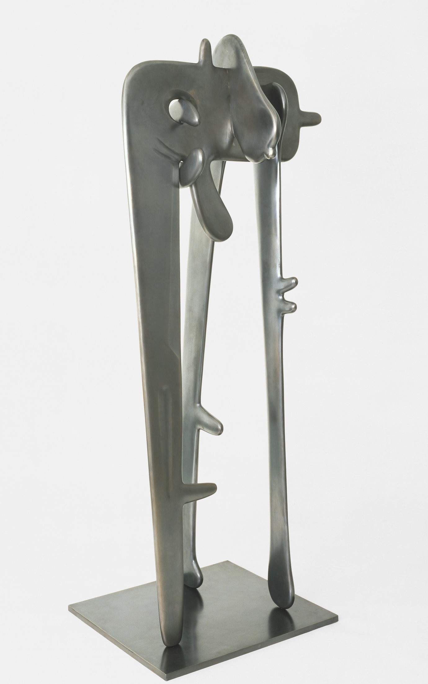 ", 1947. Bronze, 78"" x 33"" x 24"" (198.1 cm x 83.8 cm x 61 cm), 4 elements overall installed."