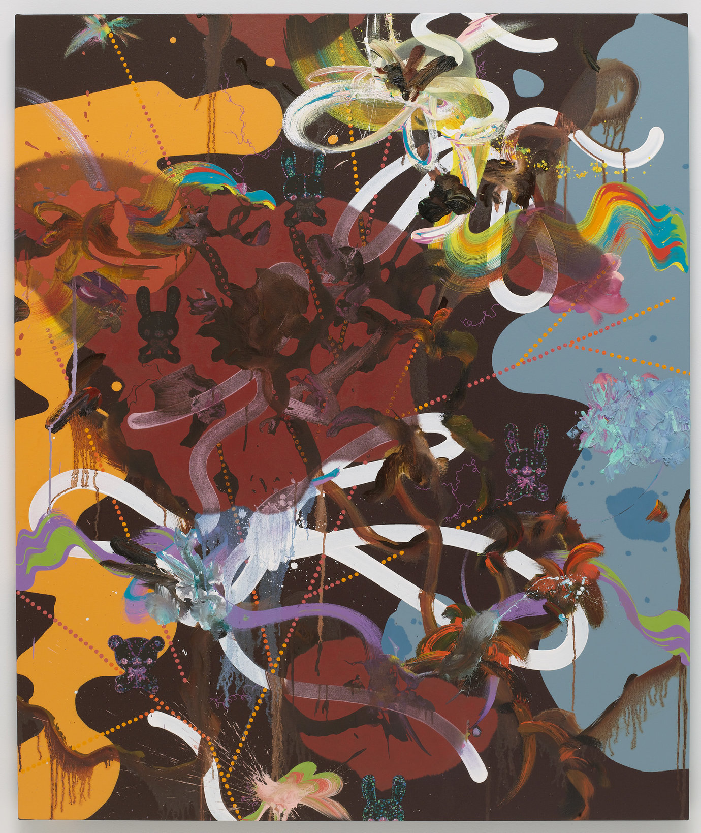 ", 2008. Oil, acrylic and gouache on canvas, 60"" x 50"" (152.4 cm x 127 cm)."
