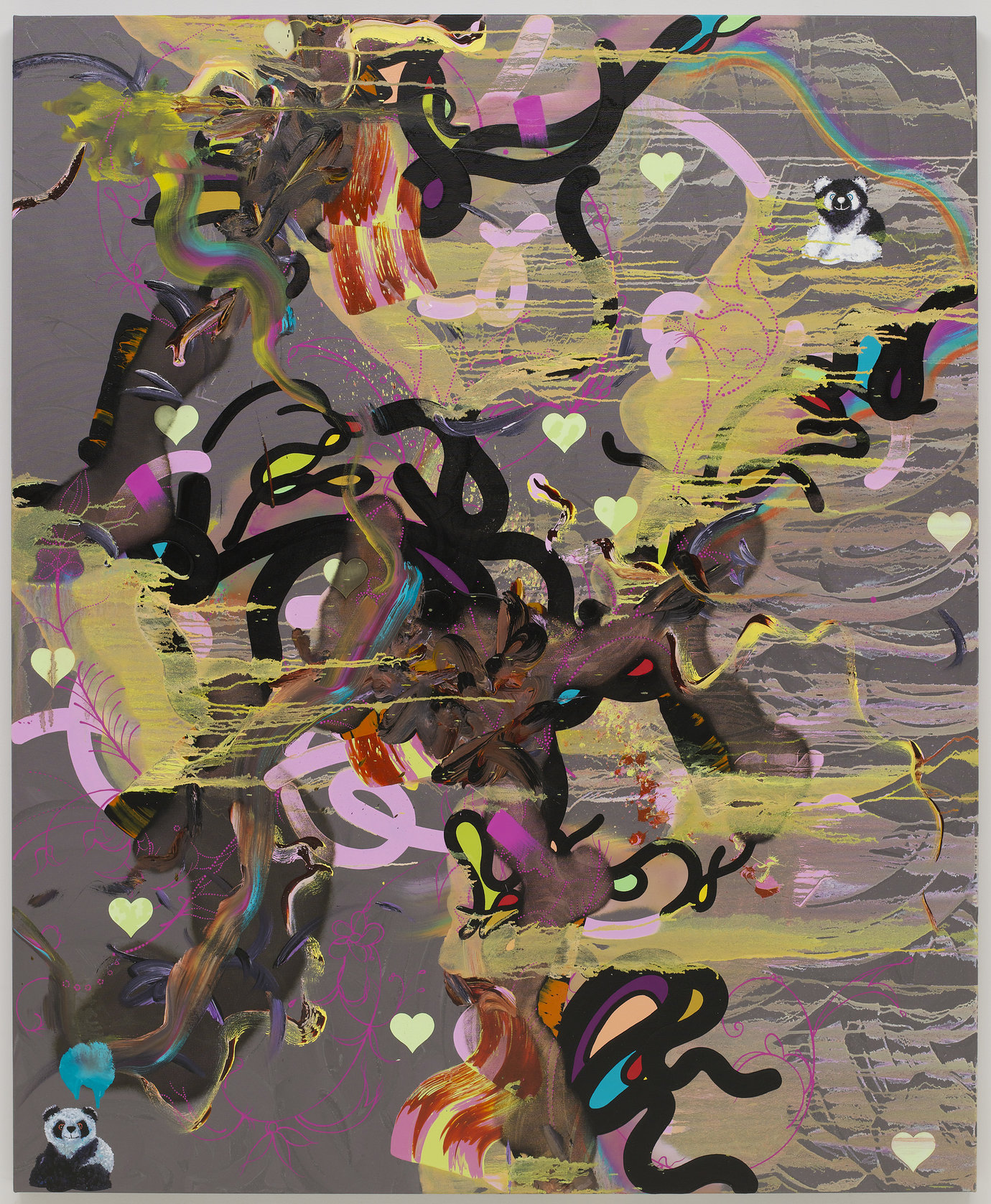 ", 2009. Oil and acrylic on canvas, 72"" x 59"" (182.9 cm x 149.9 cm)."