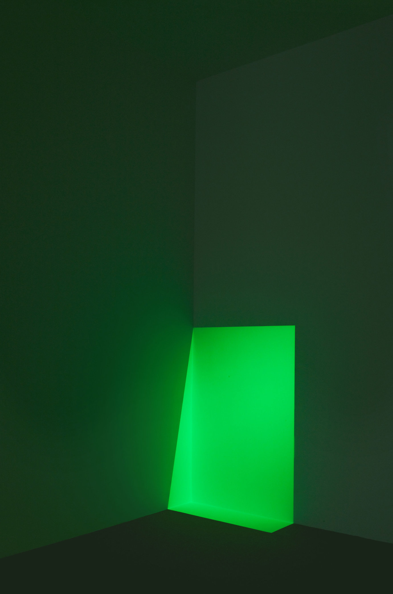 , 1968. cross corner projection, dimensions variable.