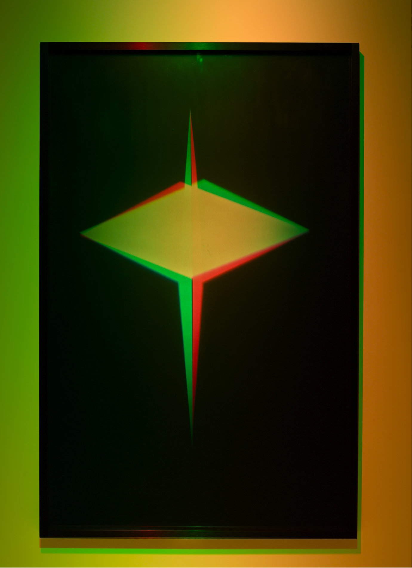", 2008. Transmission light work, 61-1/2"" x 39-1/2"" (156.2 cm x 100.3 cm)."