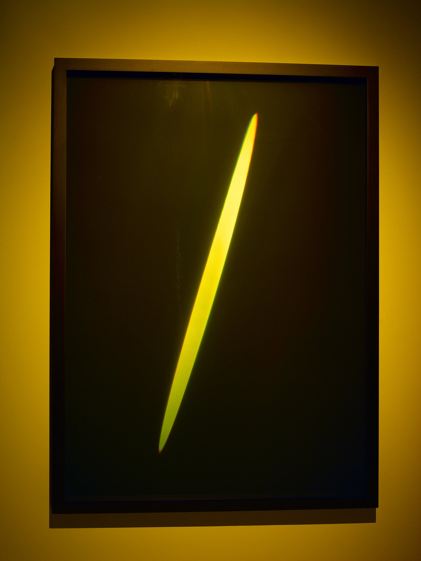 ", 2011. Transmission light work, 55-3/16"" x 40-3/16"" x 2-1/2"" (140.2 cm x 102.1 cm x 6.4 cm)."