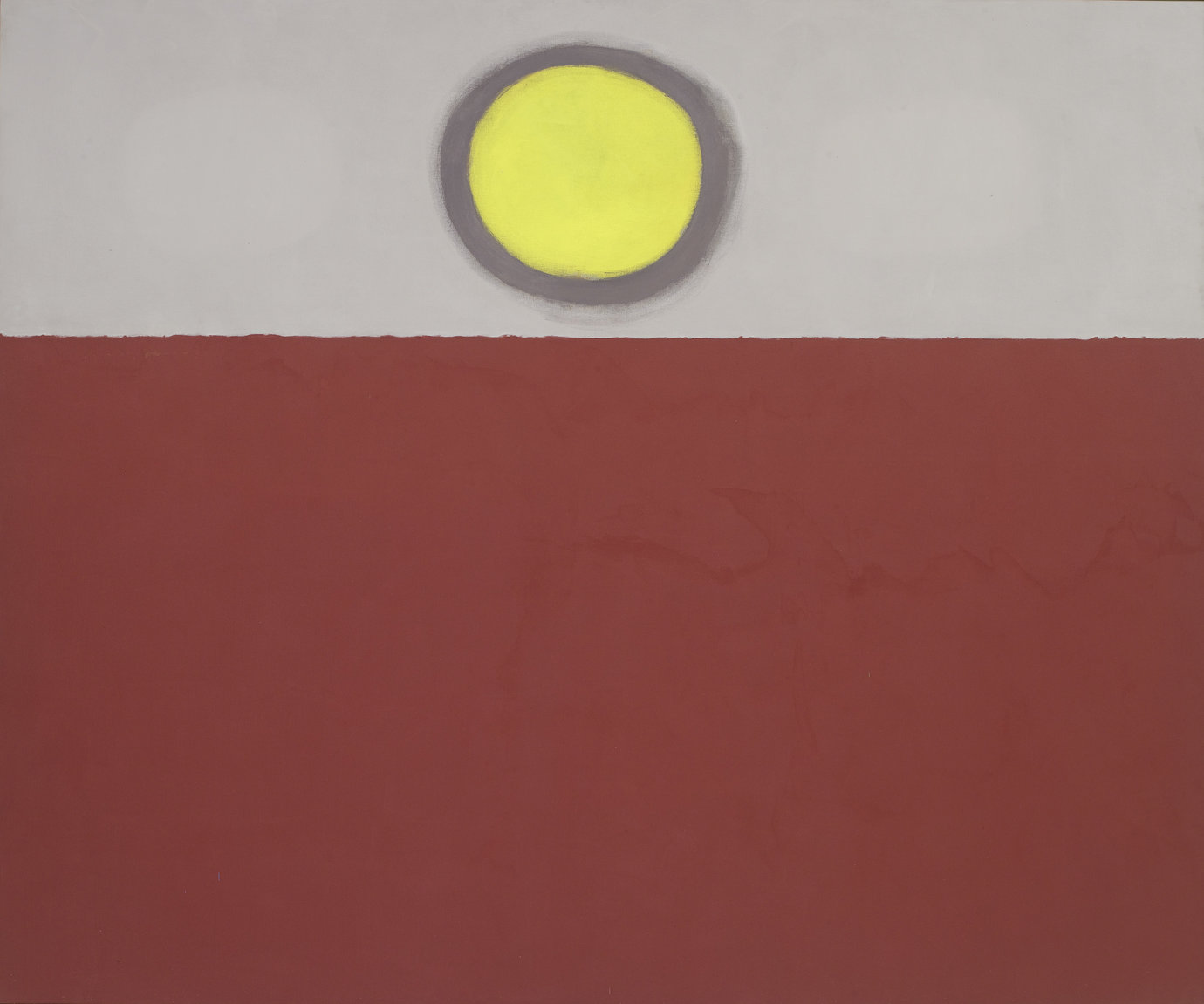 ", 1970. Acrylic on canvas, 7'6"" x 9' (2.29 x 2.74 m)."