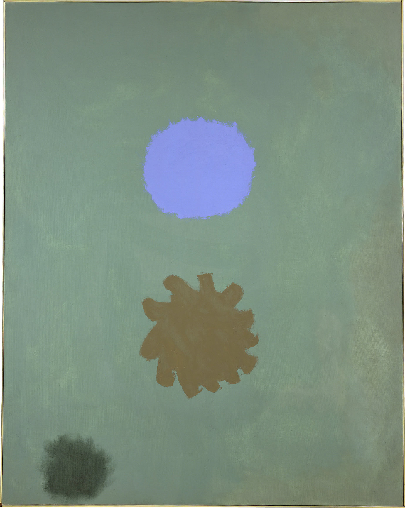 ", 1962. Oil on linen, 90"" x 72"" (228.6 cm x 182.9 cm)."