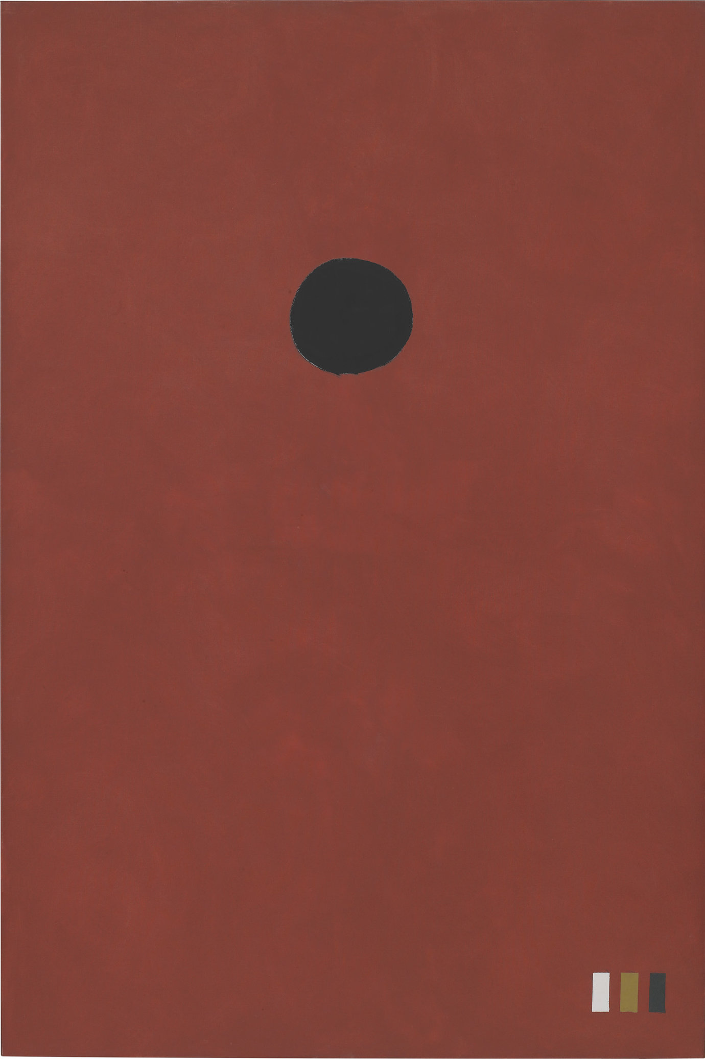 ", 1972. Oil on linen, 90"" x 60"" (228.6 cm x 152.4 cm)."