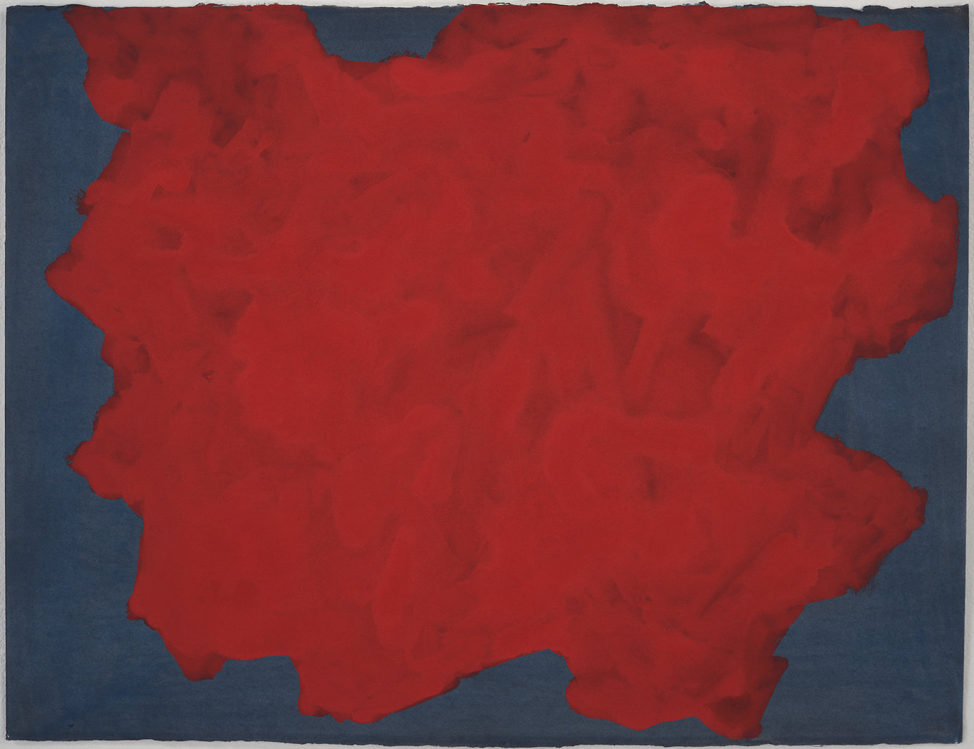 ", 1998. Gouache on paper, 22-1/2"" x 29-1/2"" (57.2 cm x 74.9 cm)."