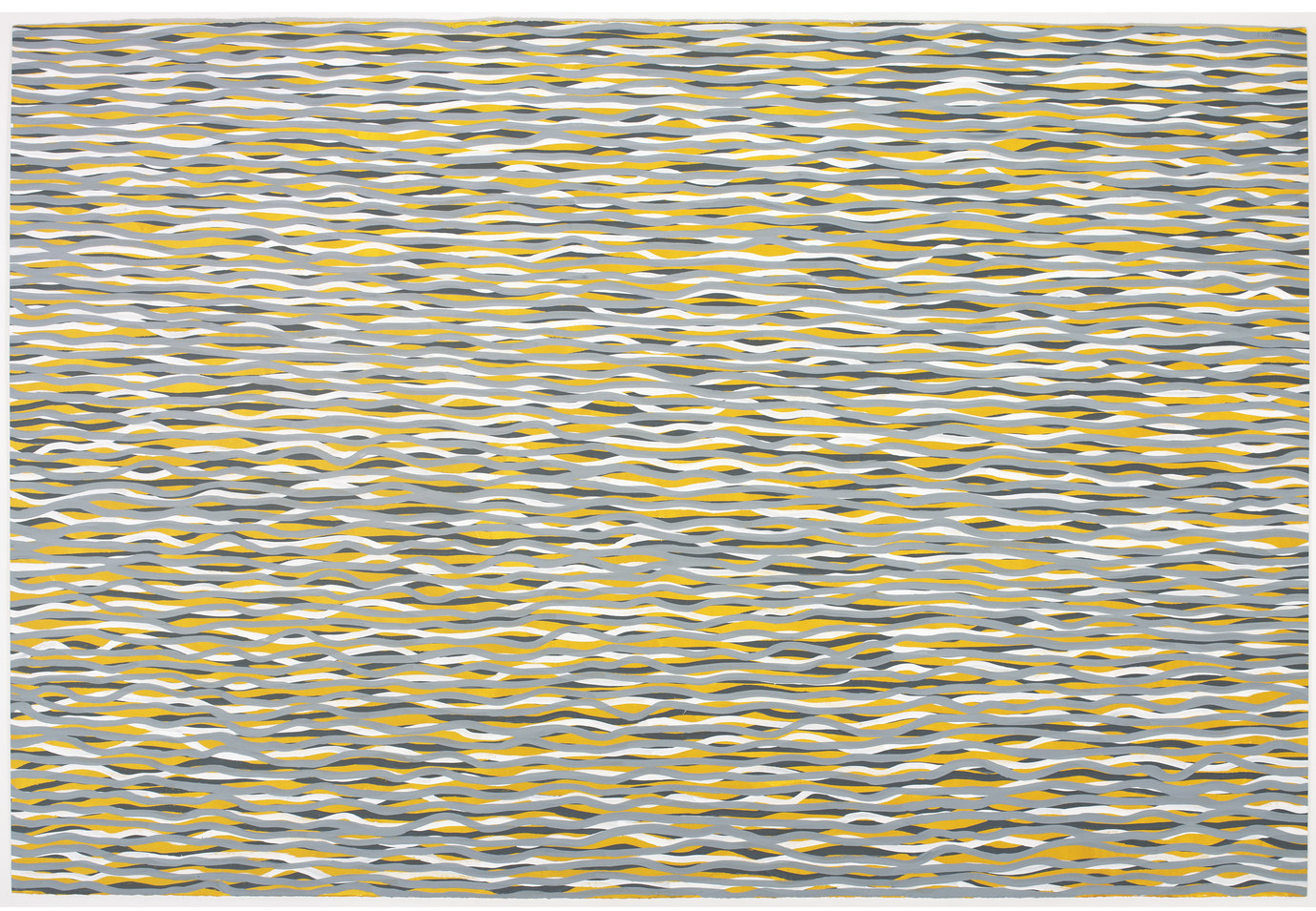 ", 2005. Gouache on paper, 60"" x 89-3/4"" (152.4 cm x 228 cm)."