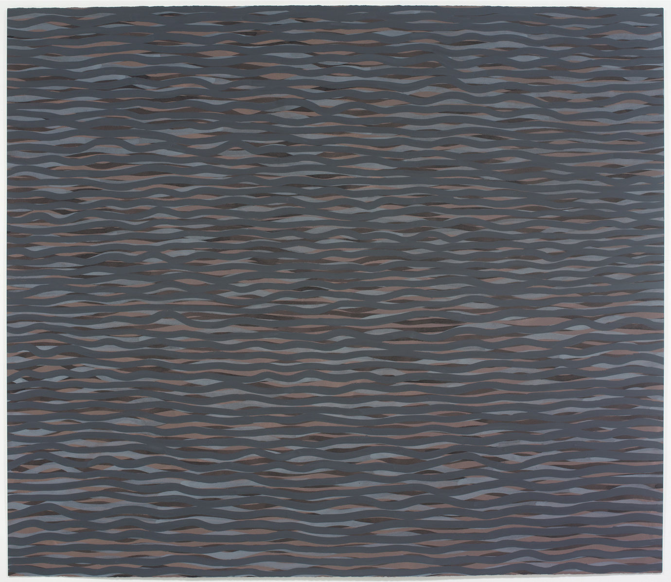 ", 2005. Gouache on paper, 60"" x 69-1/2"" (152.4 cm x 176.5 cm)."