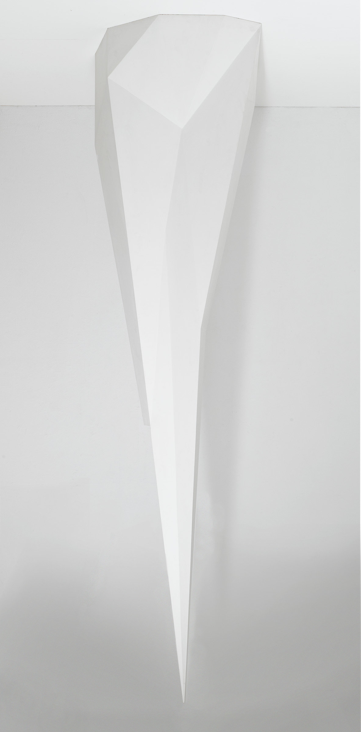 ", 1989. Painted wood, 11&apos; 6"" x 3&apos; 4"" x 2&apos; 11"" (350.5 cm x 101.6 cm x 88.9 cm)."