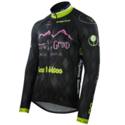 Men's Continental Cycling Jersey Long Sleeve