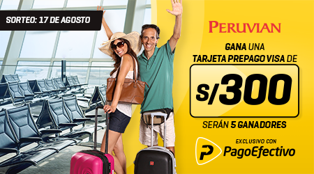 Peruvian s/300 sorteo
