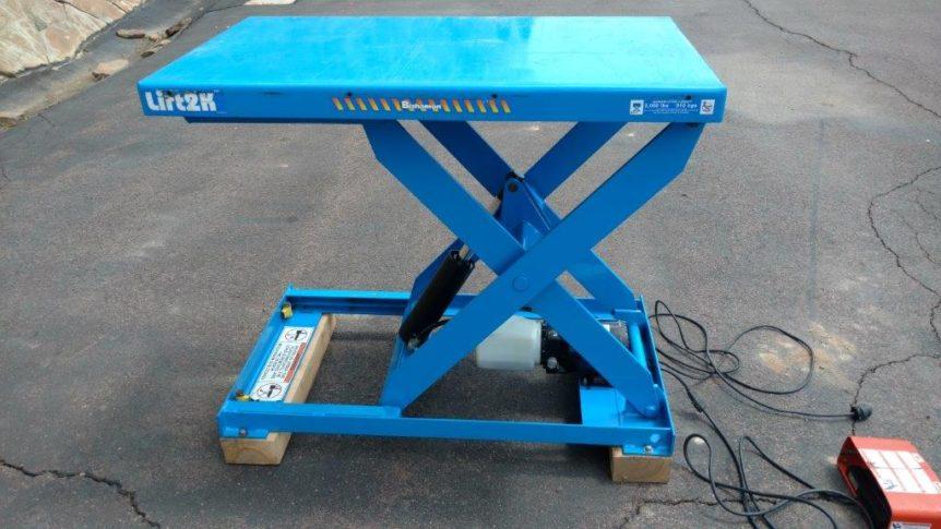 Lift2K Hydraulic Lift Table L2K #2311