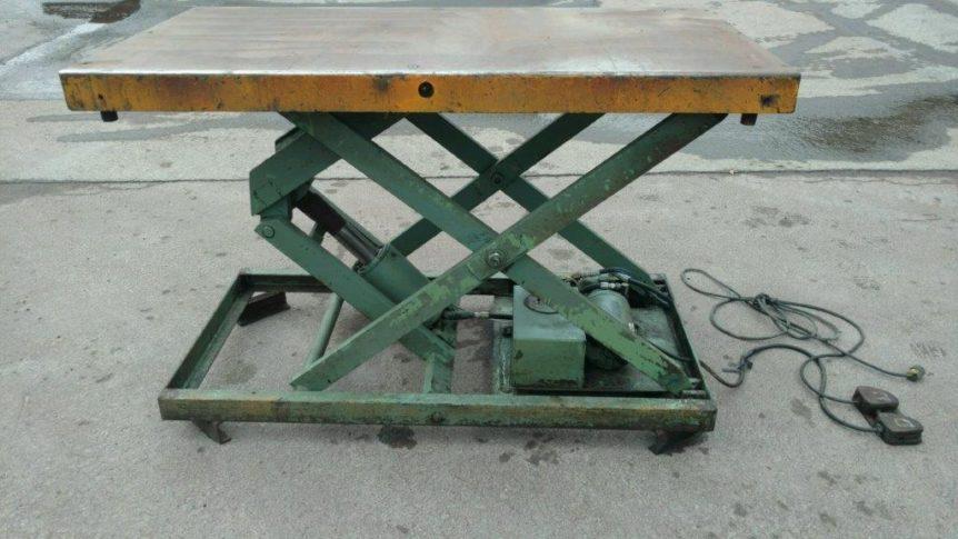 American Hydraulic Lift Table #2315