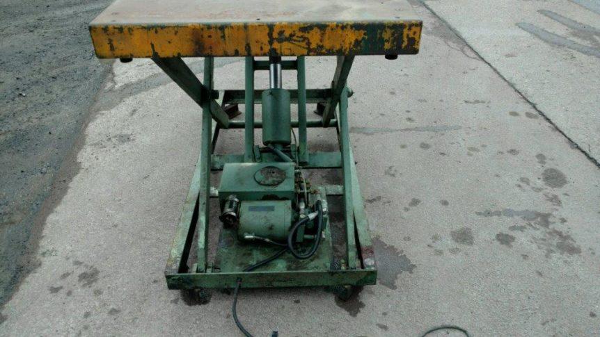 American Hydraulic Lift Table #2316