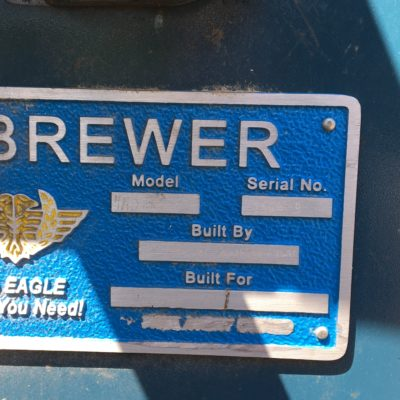Brewer Undercut Trim Plate 4H #2338