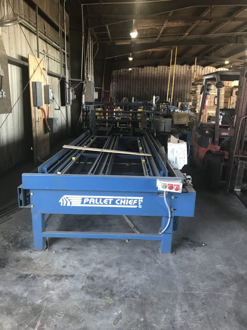 Pallet Chief Infeed #2397