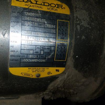 Smart Bandsaw Dismantler Face Plate #2404